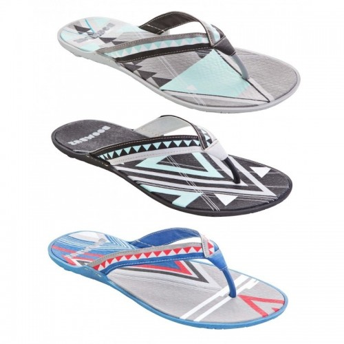 Men Organic Flip-Flops Taiga dressed, multicolour | Boombuz