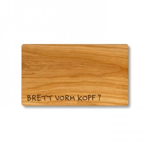 Cherrywood cutting board, German slang | Echtholz
