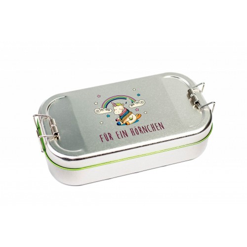 Lunchbox Unicorn tinplate box CameleonPack | Tindobo