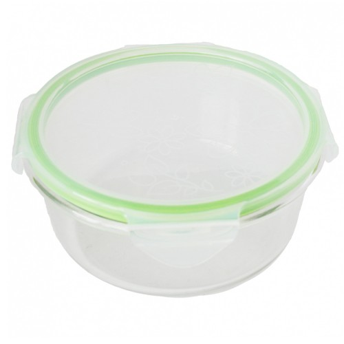 Dora's Buddha Bowl – Storage Glass Bowl with Lid