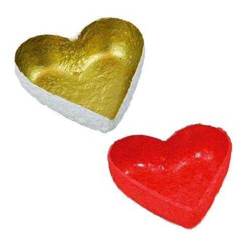 Filigran Decoration Bowl HEART - fair trade | Sundara Paper Art