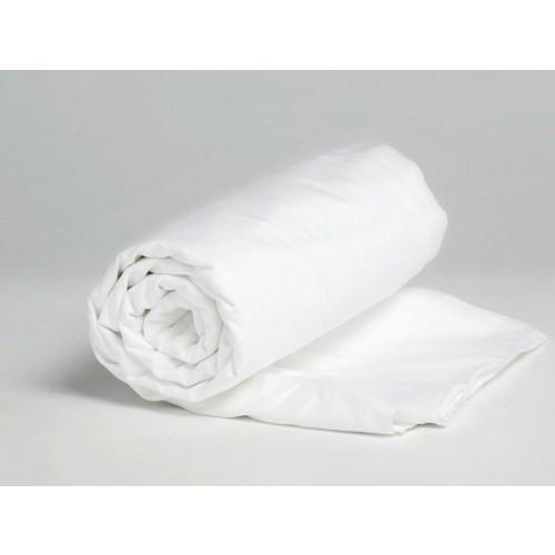 Spannbettlaken Jersey Pure White