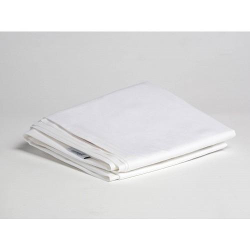 Laken Baumwollsatin Pure White