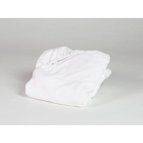 Molton Baumwolle Pure White