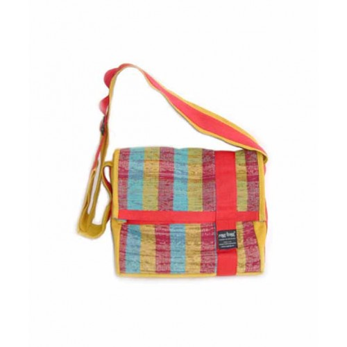 Colourful Shoulder Bag Sunset from recycled cotton | ragbag