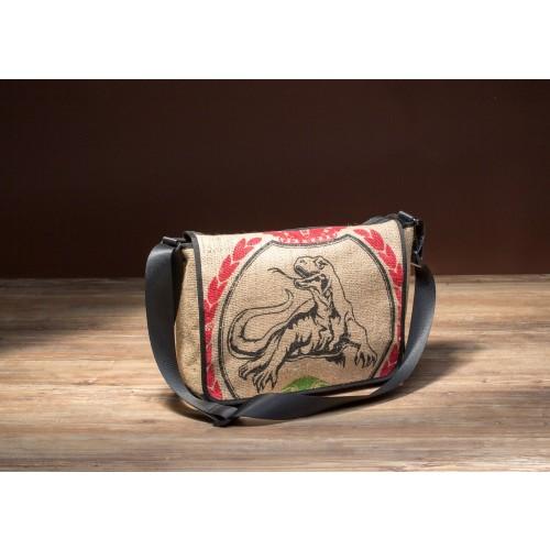 """Messenger Bag aus Kaffeesack Modell """"Comodo"""""""