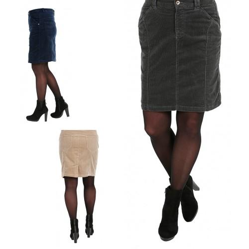 bloomers Velvet Skirt »Susi« - Cord Skirt, Organic Cotton