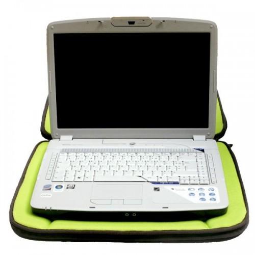 """Laptop Schutzhülle Leinen & Bambus 13"""", 15"""" – Braun"""