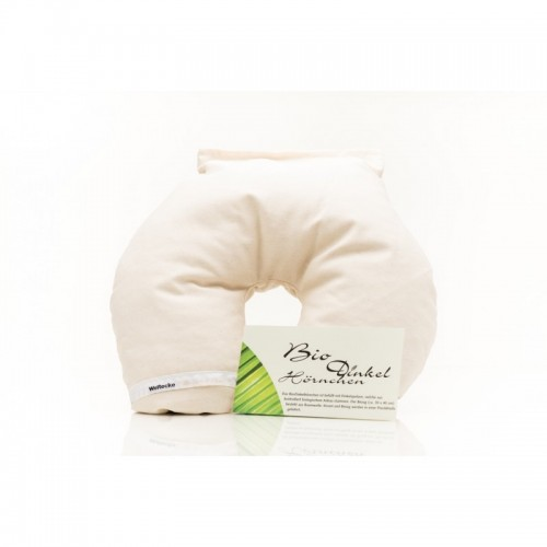 Neck Pillow with organic spelt from Weltecke