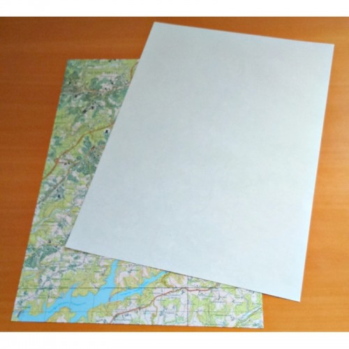 Direct recycled Printing Paper A4 of recycled maps