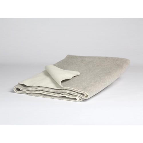 Wolldecke Grey/White