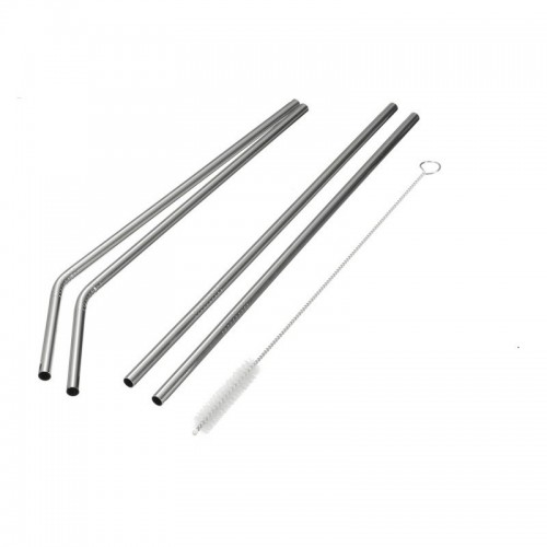 Made Sustained stainless steel drinking straw for children & cocktails