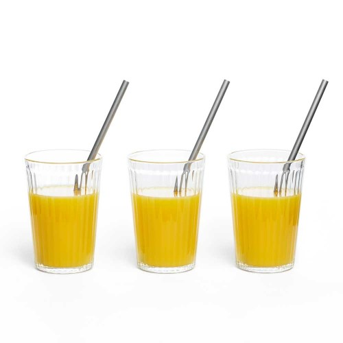 Drinking Straws Stainless Steel 20 cm long | mehr gruen