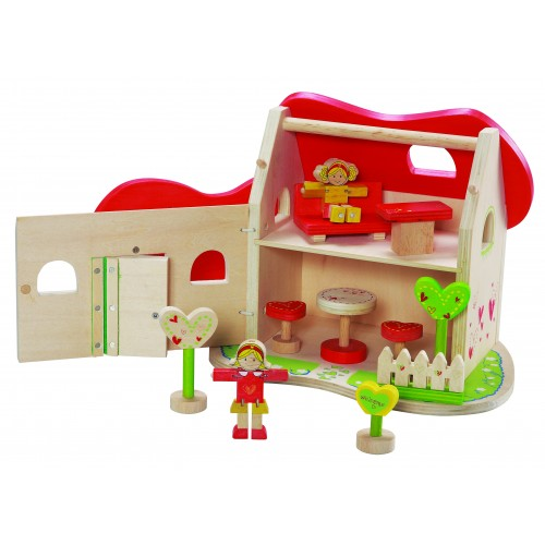 Fairytale doll's house of FSC® wood | EverEarth