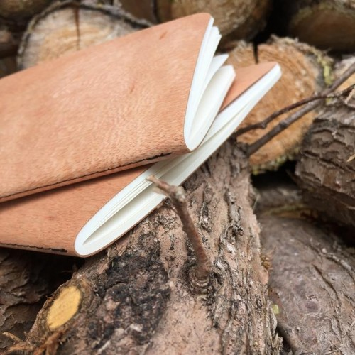 Genuine wood Notebook CEDAR Cover & FSC paper | echtholz