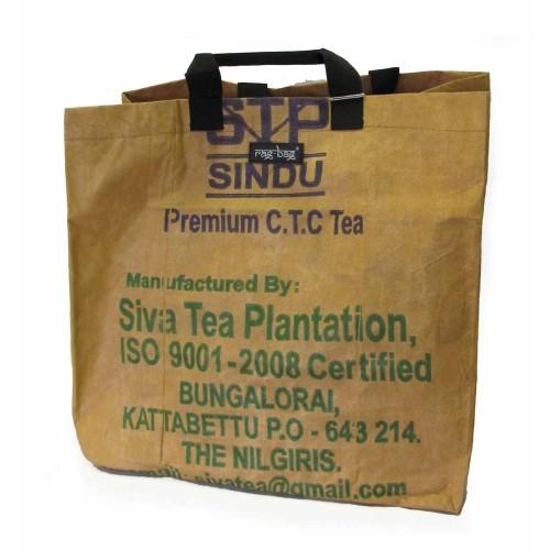 Einkaufstasche L Tamil Nadu Recycling Teesack | rag-bag