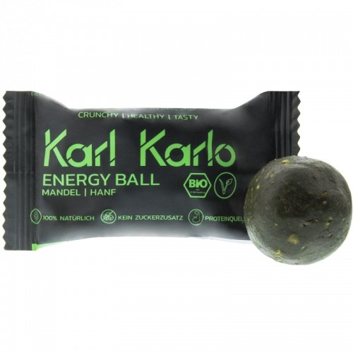 Almond | Hemp Energy Ball Protein-Snack | Karl Karlo