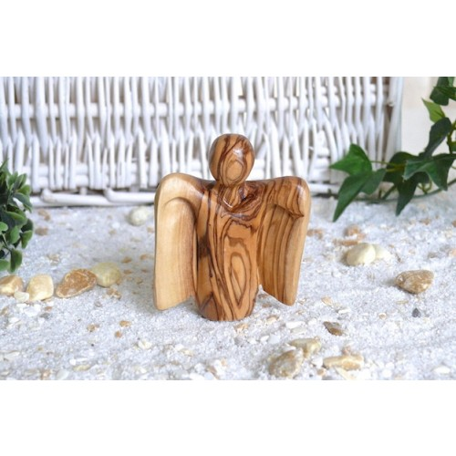 Angel 4 RAPHAEL made of Olive Wood | Olivenholz erleben