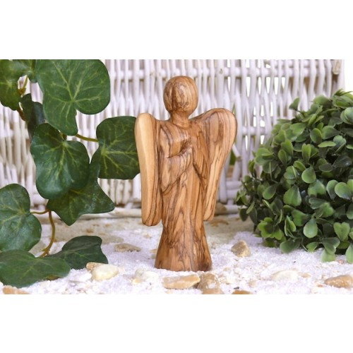 Olive Wood Angel of Awareness MICHAEL | Olivenholz erleben