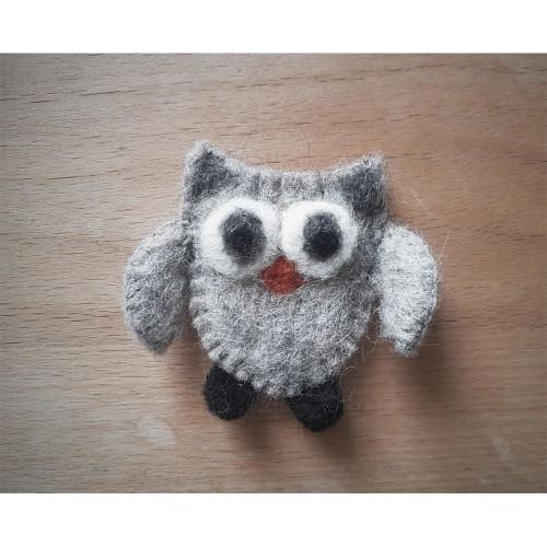 Owl Sew on Patch Wool Felt | Ulalue
