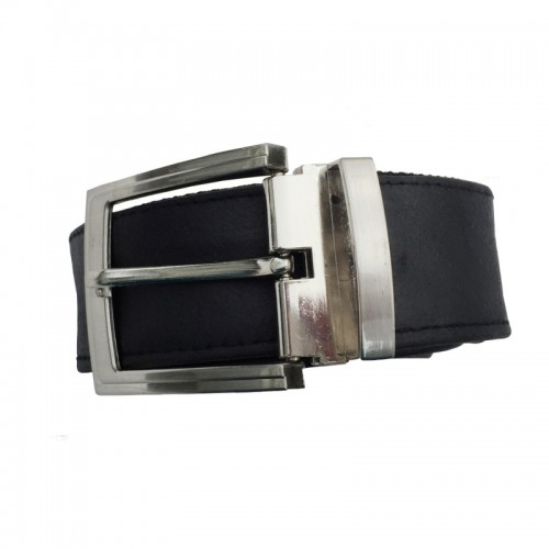 Python upcycled Men's Belt made of vegan leather | Ecowings
