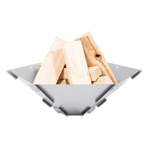 FENNEK HEXAGON portable Fire Bowl of Stainless Steel