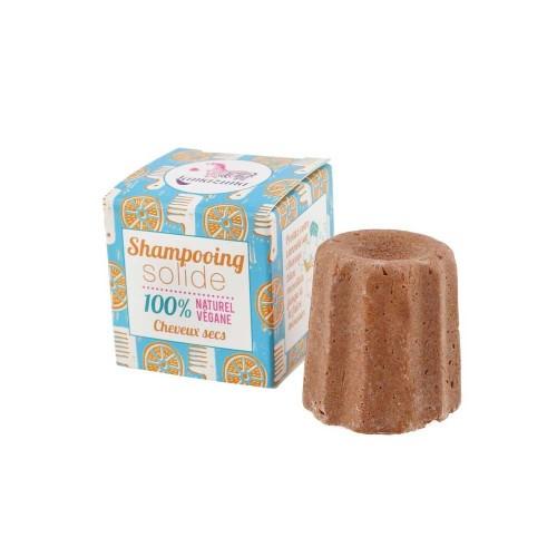 Lamazuna Solid Orange Shampoo dry & stressed hair - vegan