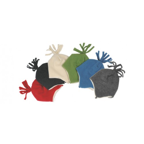 Eco Children Fleece Beanie of Merino Wool | Reiff
