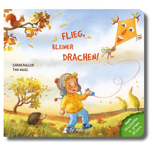Fly, little kite! - German picture book | neunmalklug