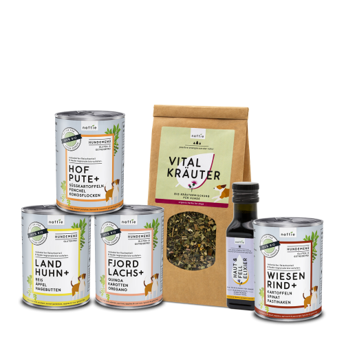 Organic Trial Bundle Low-Meat for Dogs by naftie