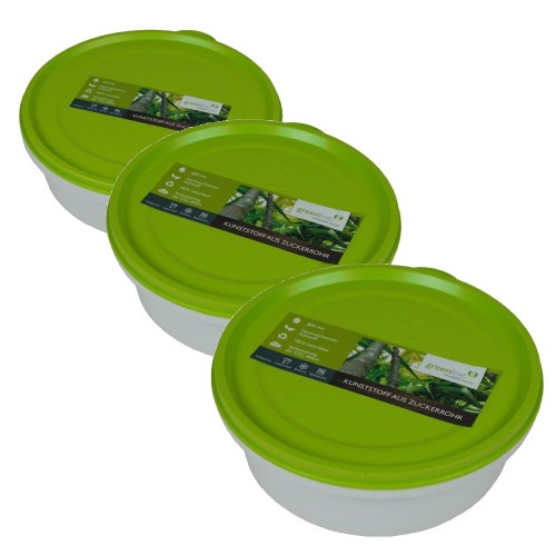 Greenline Round Food Storage Containers with Lid | Gies