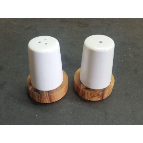 D.O.M. Ceramic Salt & Pepper Shaker Set Max & Moritz