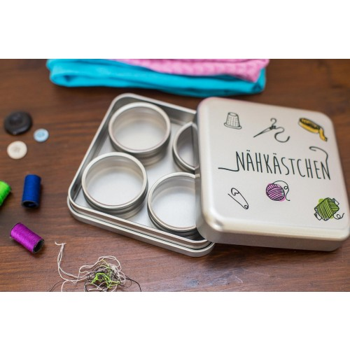 Sewing Box made of recyclable tinplate | Tindobo