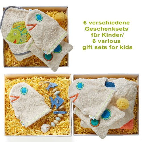 early fish Gift Sets for Girls & Boys - Organic & Eco