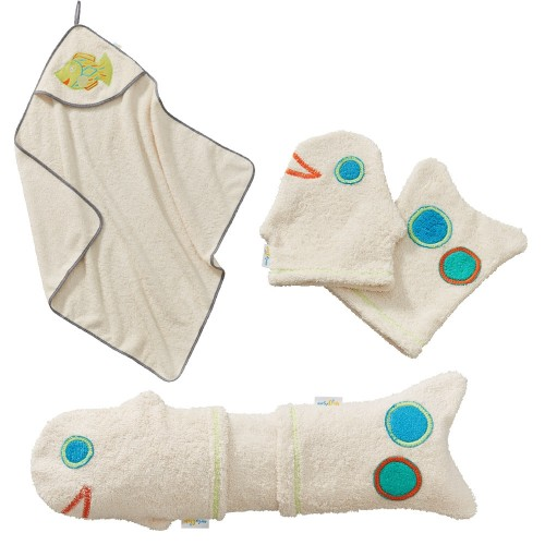 Eco Baby Body Care Gift Set for birth of a boy | early fish