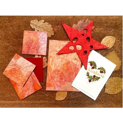Fairtrade Gift Set COSY - handmade paper | Sundara Paper Art