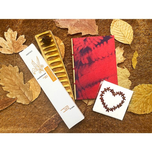 YOGA Gift Set - fair trade gift from India | Sundara Paper Art