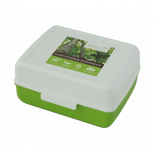 Gies ecoline Storage Container & Lunchbox, Green PE