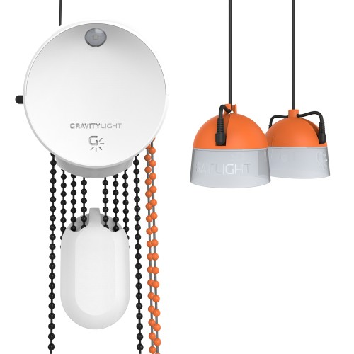 GravityLight GL02 Home System self-generated light | Deciwatt
