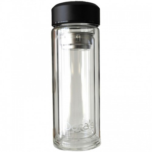 Dora's Thermoflask made of double-walled glass for to go