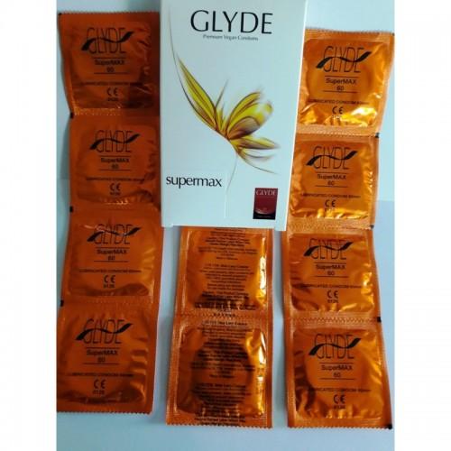 Glyde Super Max Premium Vegan Condoms