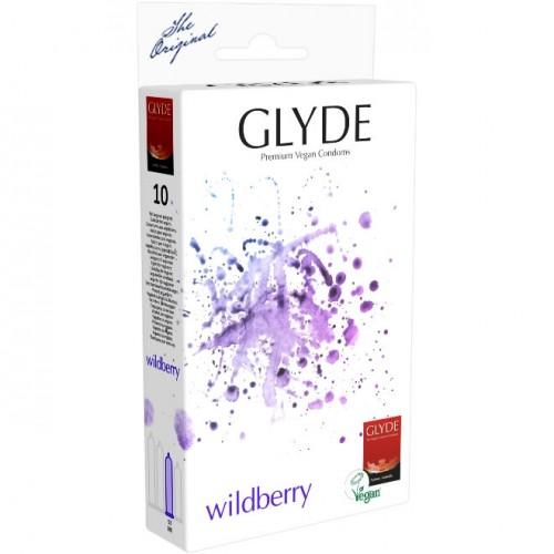 Glyde Ultra Wildberry Flavour Vegan Condoms