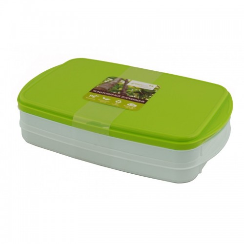 Greenline stackable food containers of bioplastic | Gies