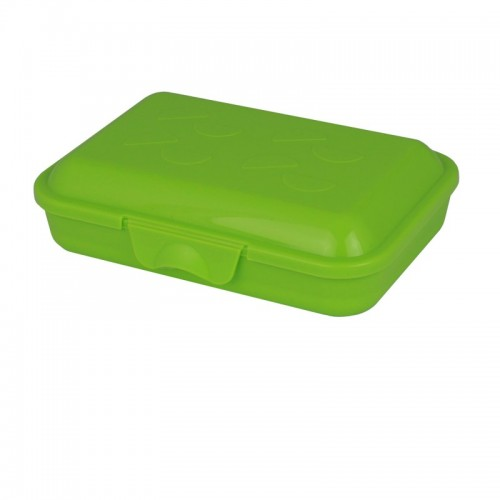 Greenline lunchbox with snap lock made of bioplastic | Gies