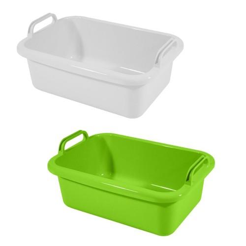Greenline Tub, Shallow Tray bio-based PE bioplastic | Gies