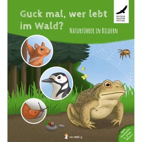 Nature handbook in pictures - forest animals | neunmalklug
