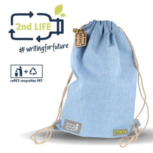 Drawstring 2nd LIFE from recycled PET | Online Pen
