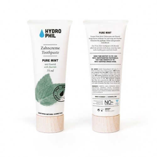 Hydrophil Pure Mint Vegan Toothpaste - natural cosmetics
