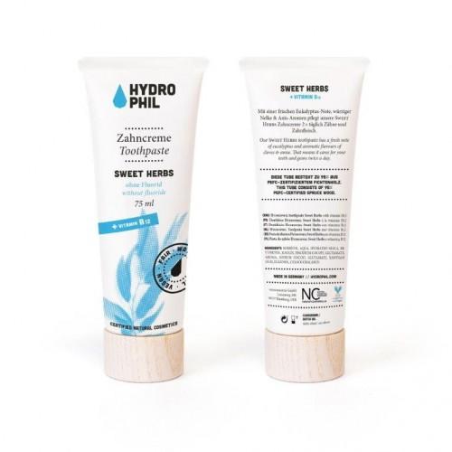 Hydrophil Sweet Herbs Vegan Toothpaste - natural cosmetics