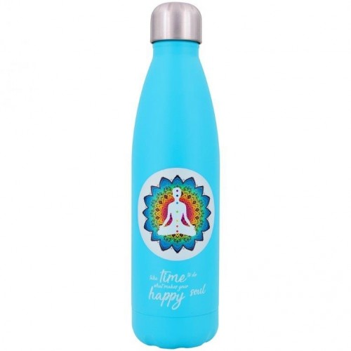 Reusable Insulated Bottle YOGA - stainless steel vacuum flask | Dora's